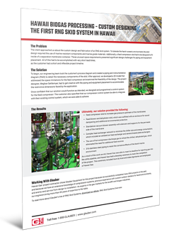 3D Cover - Case Study Design - Hawaii Biogas Processing